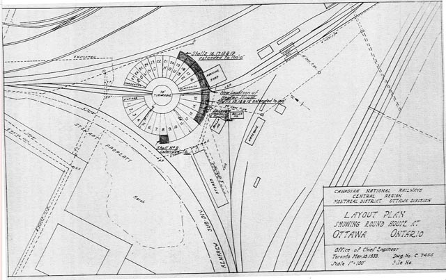 Railways of ottawa roundhouse in its maximum cn configuration in 1933 with the erecting shop gone the fire insurance plans show earlier configurations including 1912 malvernweather Images