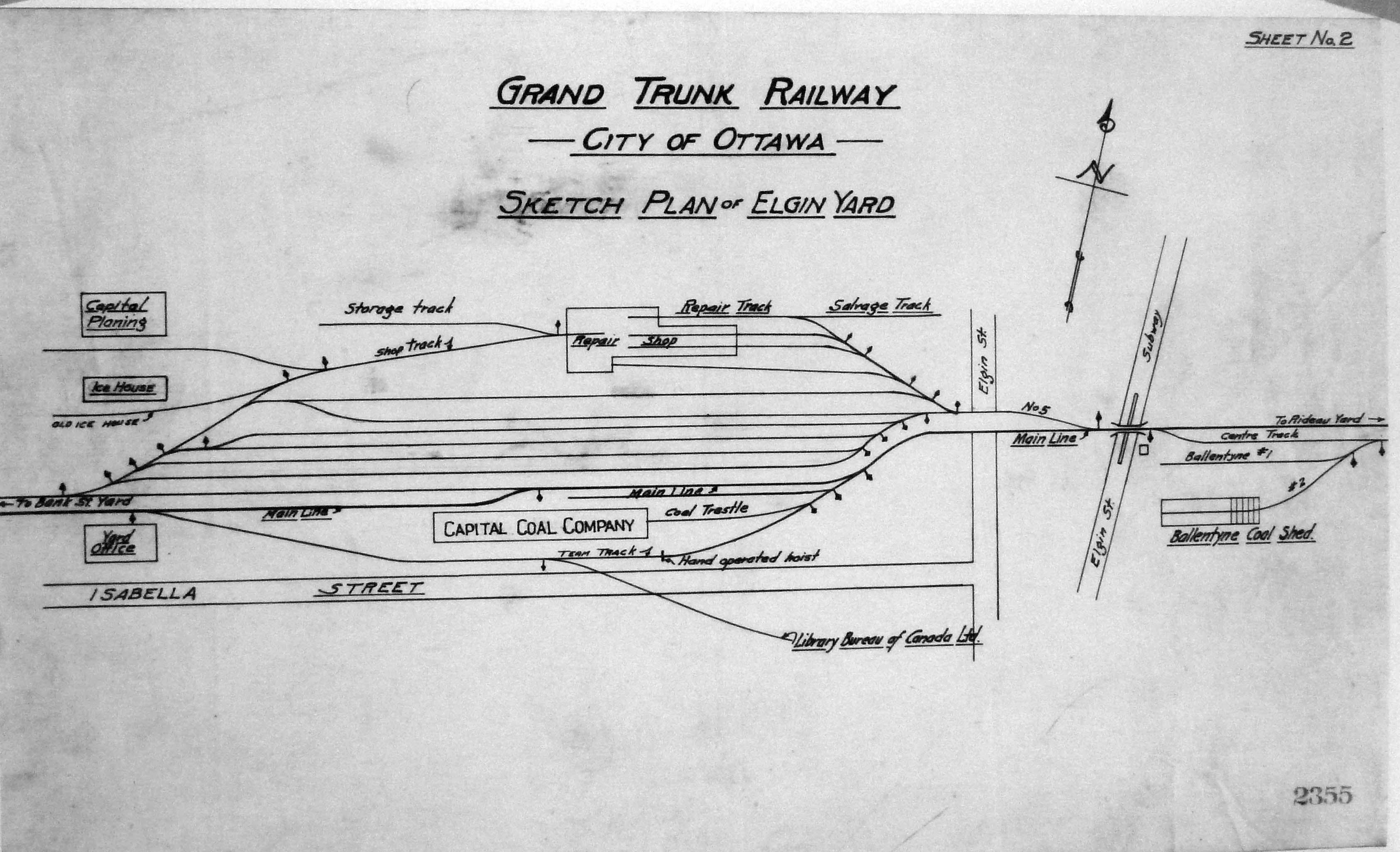 ottawa railway history circle plans for railways in the ottawa area. Black Bedroom Furniture Sets. Home Design Ideas