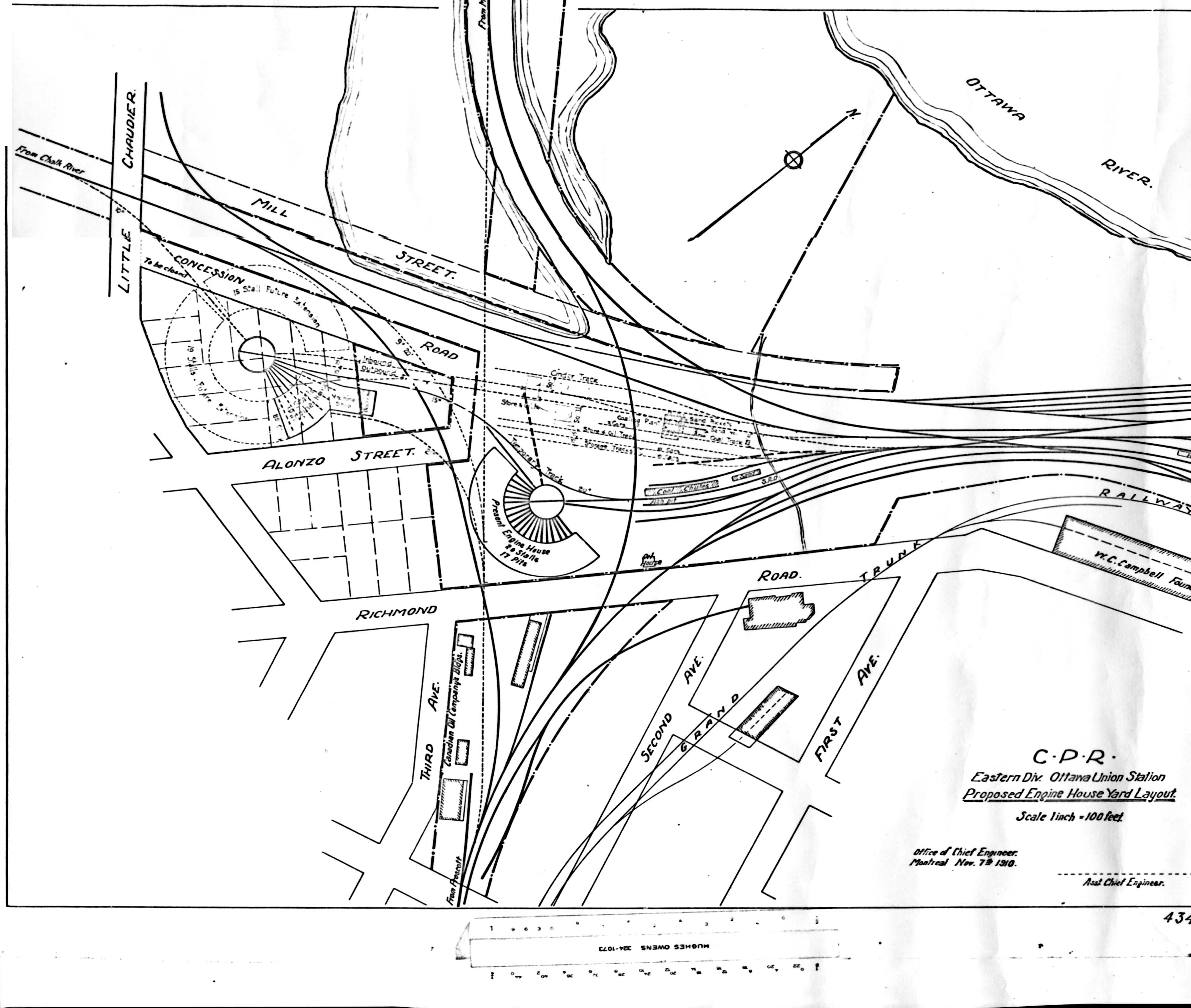 layouts of houses ottawa railway history circle plans for railways in the 13966